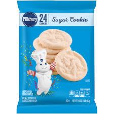 Pillsbury Sugar Cookies Halloween by Pillsbury Ready To Bake Refrigerated Cookies Sugar 24 Ct 16 0 Oz