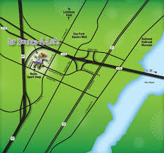 Green Bay Wisconsin Map by Find Us Sir Bounce A Lot U0027s Green Bay Wi 920 497 9999