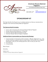 19 sample corporate sponsorship proposal sendletters info