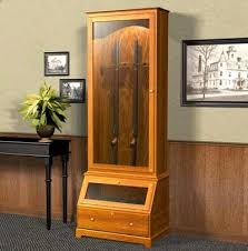 free gun cabinet plans with dimensions gun cabinet woodworking plans home project ideas pinterest