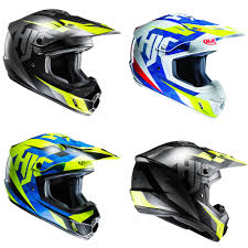 motocross helmet hjc cs mx ii dakota motocross off road mx helmet green laning blue