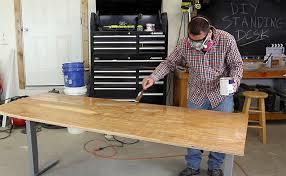 Diy Standing Desk Diy Standing Desk Diy Pete Stand Modern
