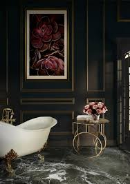 5 luxury bathroom ideas with stunning side tables