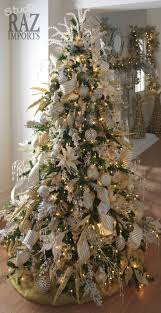 tree decorated in all white bebe the dried
