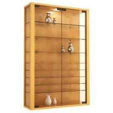 wall mounted curio cabinet wall mount curio cabinet open travel