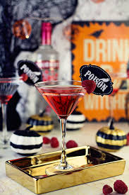 black widow martini spooky halloween cocktail recipes perfect for your party