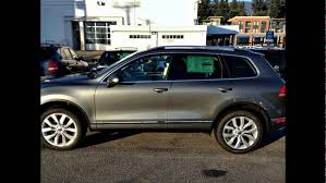volkswagen touareg 2016 2016 volkswagen touareg canyon grey metallic youtube