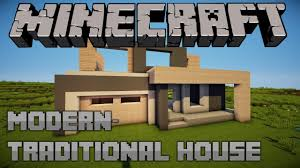 modern traditional house minecraft let u0027s build e01 youtube