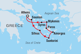 Greek Islands Map Greece Tours U0026 Travel Intrepid Travel Us