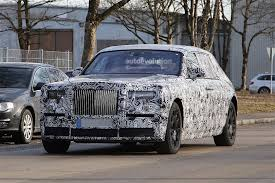 roll royce pink 2018 rolls royce phantom spied with no visible major changes