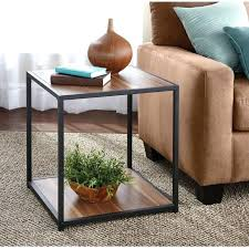 walmart end tables and coffee tables rustic side table walmart coma frique studio 6610c0d1776b