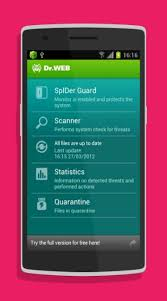 anti virus dr web light dr web anti virus light android app free download androidfry