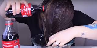 coke in curly hair blogger s coca cola hair rinse experiment video