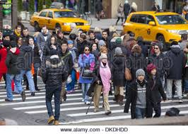 5th avenue on black friday the day after thanksgiving billed as
