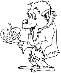 goosebumps coloring pages awesome werewolf coloring pages 19 in free colouring pages with