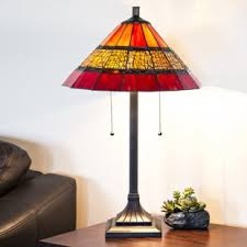 stained glass table lamps wayfair