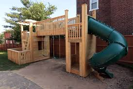 Backyard Playground Slides by The Ultimate Collection Of Free Diy Outdoor Playset Plans Total