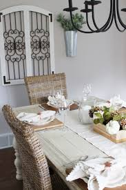 our modern farmhouse dining room u0026 neutral thanksgiving table