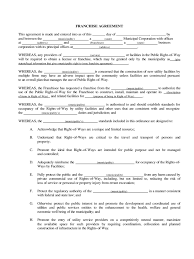 Apartment Leasing Consultant Resume Franchise Agreement Template 6 Free Templates In Pdf Word