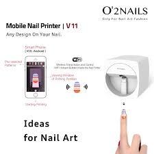 o2nails nail printer machine transfer picture design iphone