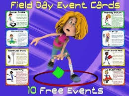 field day event cards 10 free events field day is the best day