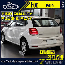 vw led tail lights akd car styling tail l for vw polo tail lights polo led tail