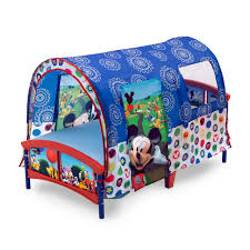 Delta Mini Crib Mattress by Delta Children Toddler Tent Bed Disney Mickey Mouse Recommended