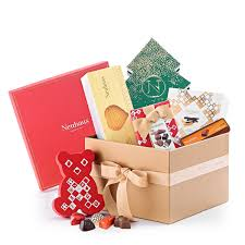 gift boxes christmas neuhaus festive christmas gift box for delivery in the us neuhaus