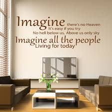 john lennon imagine lyrics wall sticker world of wall stickers the product is already in the wishlist browse wishlist john lennon imagine lyrics wall sticker