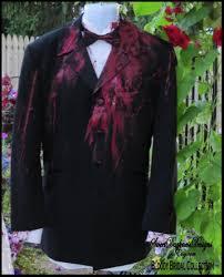 bloody tuxedo coat bloody vampire costume dia de los muertos