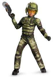 Halloween Costumes Kids Boys Military Soldier Costume Kids Halo Halloween Costumes