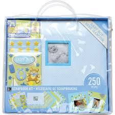 baby boy scrapbook album k and company baby boy 12 x 12 scrapbook kit