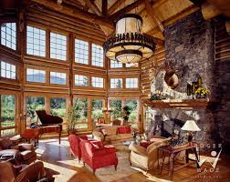 luxury log home interiors cabin interior design demonstrated with this beautiful log home
