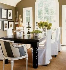White Slipcover Dining Chair How To Select Dining Room Chair Covers Contemporary Dining Room