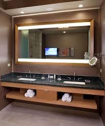 celebration lighted mirror tv hidden led hdtv