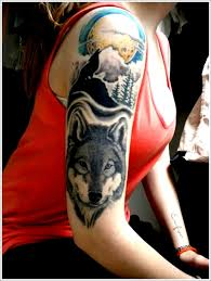 best wolf tribal tattoos meaning design idea for and