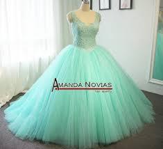 Green Wedding Dresses Aliexpress Com Buy High Quality Customer Order Mint Green