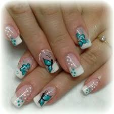 16 breath taking butterfly nail designs butterfly nail designs