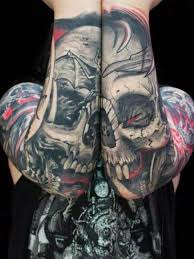 125 kick skull tattoos for