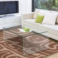 Glass Table For Living Room Costway Tempered Glass Coffee Table Accent Cocktail Side Table