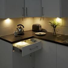 Cabinet Lights Kitchen Attractive Led Cabinet Lighting Beamled Kitchen