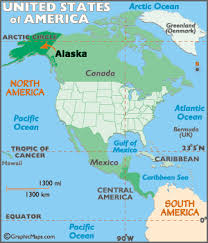 map usa y canada alaska map map of alaska geography of alaska worldatlas