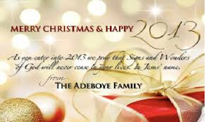 pastor adeboye release family card with special