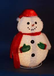 Outdoor Lighted Snowman Decorations by 24