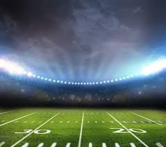 how tall are football stadium lights behind the scenes of an american football chionship game