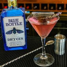 blue martini bottle blue bottle gin