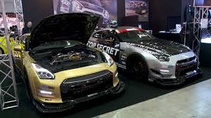 nissan gtr r35 top speed tokyo auto salon 2014 tuned gt rs