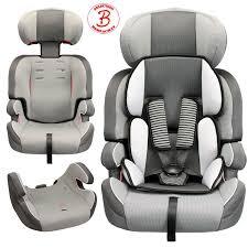 siege auto categorie siège auto évolutif groupe 1 2 3 gris pour bébés de 9 kg à 36 kg