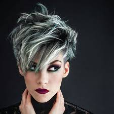 short frosted hair styles pictures color love hair pinterest short hair hair style and shorts