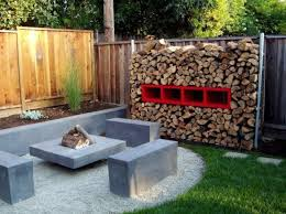 Firepit Bench by Patio Rectangular Fire Pit Table With Wooden Pattern Tiles And